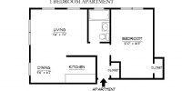Ardmore 1 bed